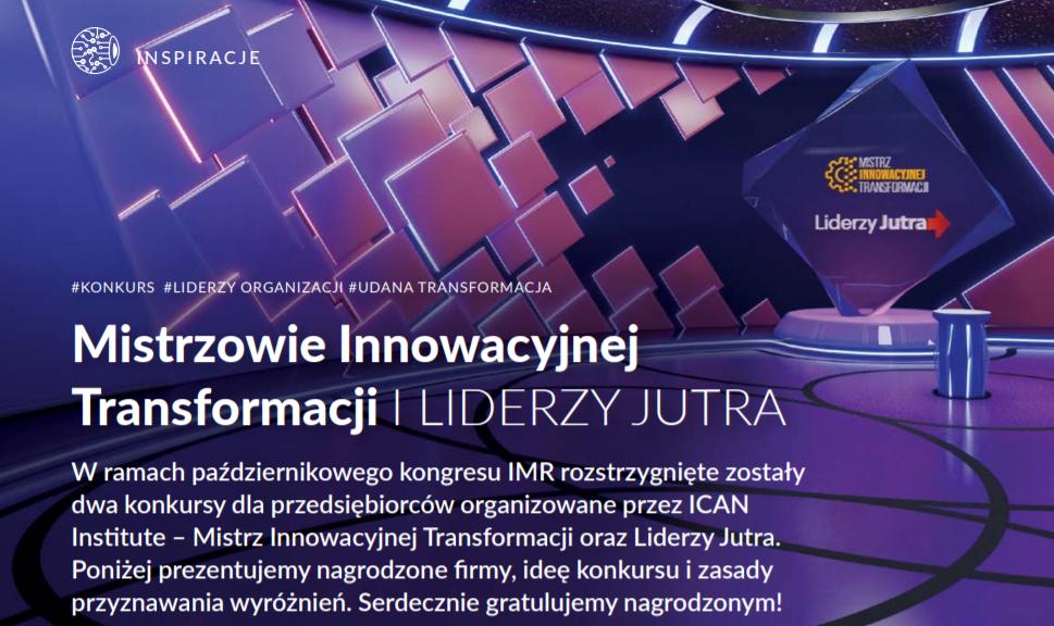 Mistrzowie Innowacyjnej Transformacji iLIDERZY JUTRA
