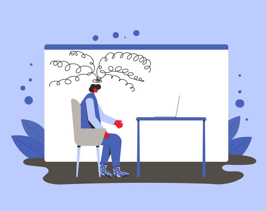 Jak irytuje praca zdalna?