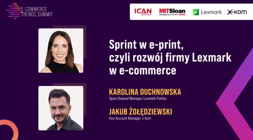 Sprint we-print, czyli rozwój firmy Lexmark we-commerce