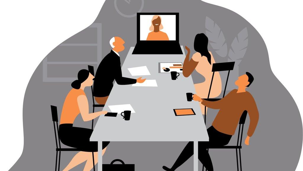 Czyprowadzenie spotkań wtrybie mieszanym ma sens?