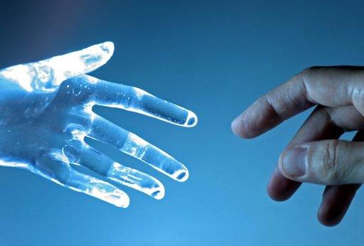 Pomocna dłoń sztucznej inteligencji